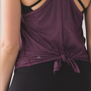 Lululemon- Tie It Up Singlet - NWOT size 10